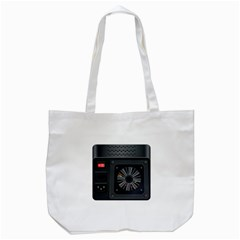 Special Black Power Supply Computer Tote Bag (white) by BangZart