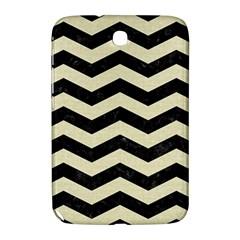 Chevron3 Black Marble & Beige Linen Samsung Galaxy Note 8 0 N5100 Hardshell Case  by trendistuff