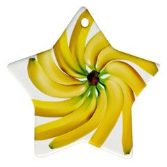 Bananas Decoration Ornament (star)