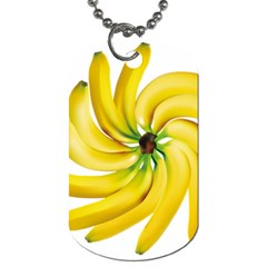 Bananas Decoration Dog Tag (two Sides) by BangZart