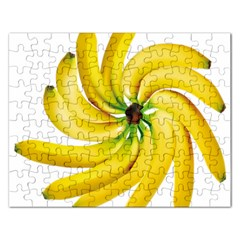 Bananas Decoration Rectangular Jigsaw Puzzl