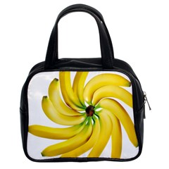 Bananas Decoration Classic Handbags (2 Sides) by BangZart