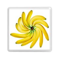 Bananas Decoration Memory Card Reader (square)  by BangZart