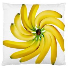 Bananas Decoration Large Cushion Case (two Sides)