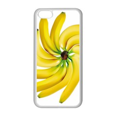 Bananas Decoration Apple Iphone 5c Seamless Case (white) by BangZart