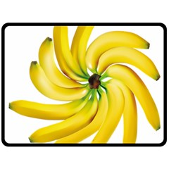 Bananas Decoration Double Sided Fleece Blanket (large)  by BangZart