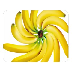 Bananas Decoration Double Sided Flano Blanket (large)  by BangZart
