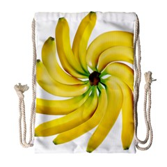 Bananas Decoration Drawstring Bag (large) by BangZart