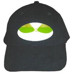 Green Swimsuit Black Cap by BangZart