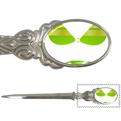 Green Swimsuit Letter Openers