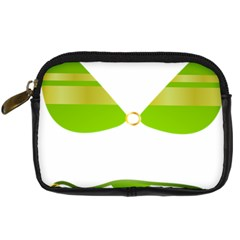 Green Swimsuit Digital Camera Cases