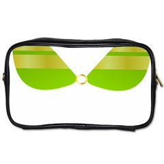 Green Swimsuit Toiletries Bags by BangZart