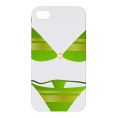 Green Swimsuit Apple Iphone 4/4s Hardshell Case by BangZart