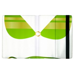 Green Swimsuit Apple Ipad 2 Flip Case by BangZart