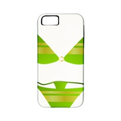 Green Swimsuit Apple Iphone 5 Classic Hardshell Case (pc+silicone) by BangZart