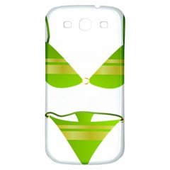 Green Swimsuit Samsung Galaxy S3 S Iii Classic Hardshell Back Case