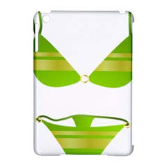 Green Swimsuit Apple Ipad Mini Hardshell Case (compatible With Smart Cover)