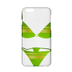 Green Swimsuit Apple Iphone 6/6s Hardshell Case by BangZart