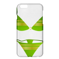 Green Swimsuit Apple Iphone 6 Plus/6s Plus Hardshell Case