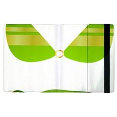 Green Swimsuit Apple Ipad Pro 12 9   Flip Case