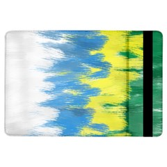 Brazil Colors Pattern Ipad Air Flip by paulaoliveiradesign