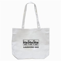 Laughing Gas Tote Bag (white) by derpfudge