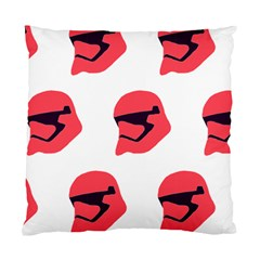 Stormtroper Pattern  Standard Cushion Case (two Sides) by paulaoliveiradesign
