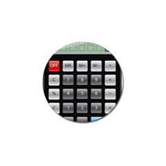 Calculator Golf Ball Marker (10 Pack) by BangZart