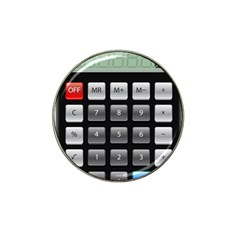 Calculator Hat Clip Ball Marker (4 Pack)