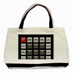 Calculator Basic Tote Bag by BangZart