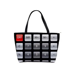 Calculator Shoulder Handbags