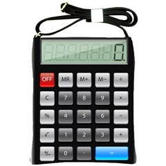 Calculator Shoulder Sling Bags by BangZart