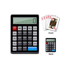 Calculator Playing Cards (mini)  by BangZart