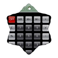 Calculator Ornament (snowflake)