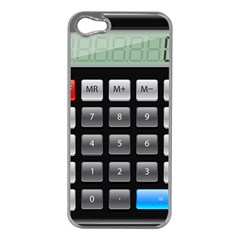 Calculator Apple Iphone 5 Case (silver)
