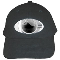 White Washing Machine Black Cap by BangZart