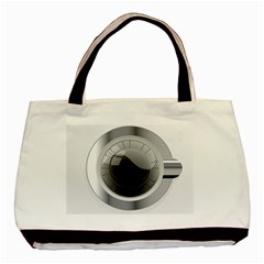 White Washing Machine Basic Tote Bag by BangZart