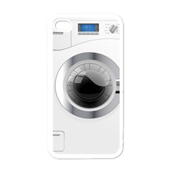 White Washing Machine Apple Iphone 4 Case (white) by BangZart