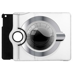 White Washing Machine Apple Ipad Mini Flip 360 Case