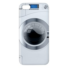 White Washing Machine Apple Iphone 5 Premium Hardshell Case