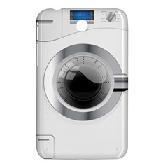 White Washing Machine Samsung Galaxy Tab 3 (7 ) P3200 Hardshell Case