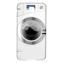 White Washing Machine Samsung Galaxy S5 Back Case (white)