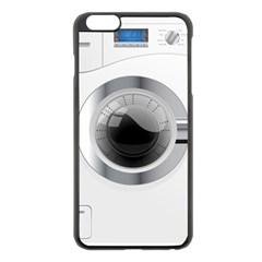 White Washing Machine Apple Iphone 6 Plus/6s Plus Black Enamel Case by BangZart