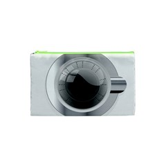 White Washing Machine Cosmetic Bag (xs)
