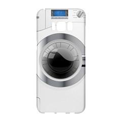 White Washing Machine Samsung Galaxy S8 Hardshell Case