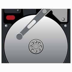 Computer Hard Disk Drive Hdd Canvas 36  X 48