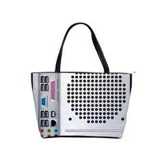 Standard Computer Case Back Shoulder Handbags by BangZart