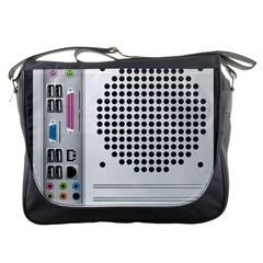 Standard Computer Case Back Messenger Bags by BangZart