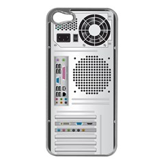 Standard Computer Case Back Apple Iphone 5 Case (silver)