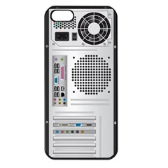 Standard Computer Case Back Apple Iphone 5 Seamless Case (black)